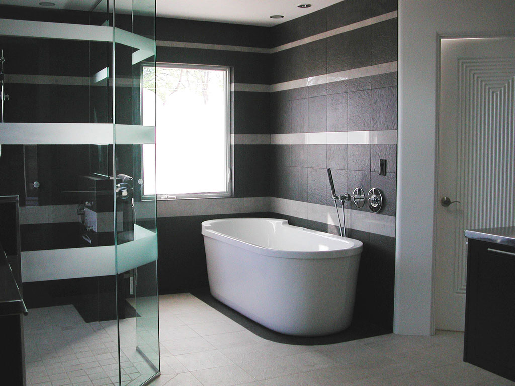 Beloved bathrooms black white bathroom design bs2h for Bathroom design black