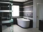 Permalink to Beloved Bathrooms: Black White Bathroom Design – BS2H